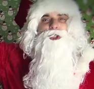 Peter as Santa Gangsta