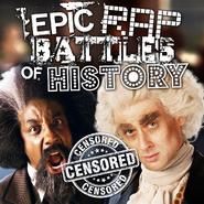 Frederick Douglass vs Thomas Jefferson Censored Cover