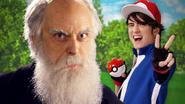 Ash Ketchum vs Charles Darwin Facebook Banner