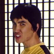 Bruce Lee In Battle