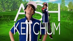 Ash Ketchum Title Card