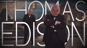 Thomas Edison Title Card