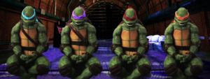 Teenage Mutant Ninja Turtles In Battle