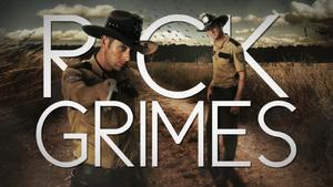 Rick Grimes Title Card