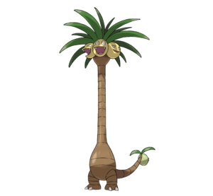 Alolan Exeggutor Based On