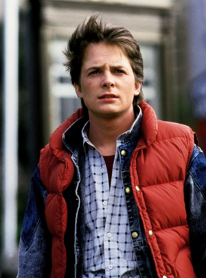Marty McFly Based On