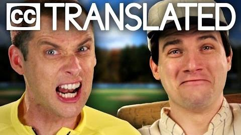 TRANSLATED Babe Ruth vs Lance Armstrong. Epic Rap Battles of History