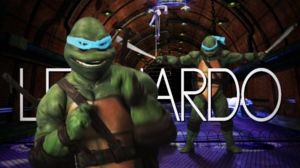 Leonardo (Turtle) Title Card