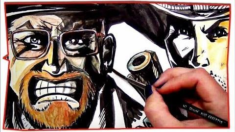 Rick Grimes vs Walter White - Epic Drawing of History