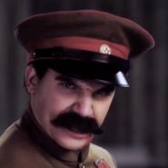 Joseph Stalin In Battle