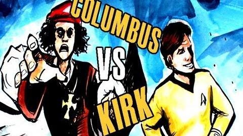 EPIC DRAWING OF HISTORY - Kirk vs Columbus