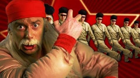Hulk Hogan and Macho Man VS Kim Jong-il - Epic Rap Battles of History 5-2