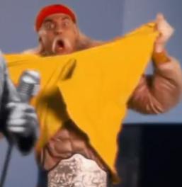 Hulk Hogan Cameo Frederick Douglass vs Thomas Jefferson