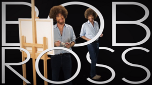 Bob Ross Title Card