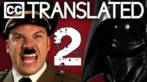 TRANSLATED Hitler vs Vader 2. Epic Rap Battles of History