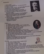 A group of western philosophy notes