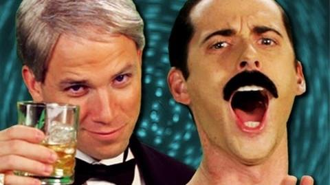 Frank Sinatra vs Freddie Mercury - Epic Rap Battles of History Season 2