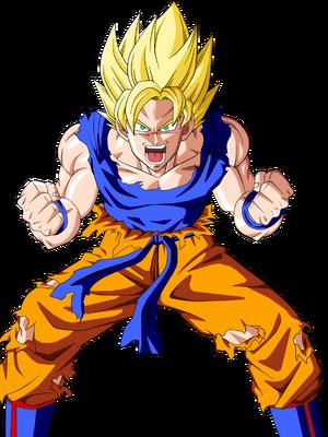 Super Saiyan Goku Based On