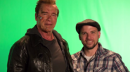 Arnold Schwarzenegger and EpicLLOYD Behind the Scenes