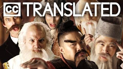 TRANSLATED Eastern Philosophers vs Western Philosophers. Epic Rap Battles of History