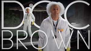 Doc Brown Title Card