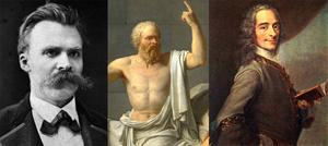 The Western Philosophers Based On