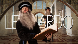 Leonardo (Artist) Title Card