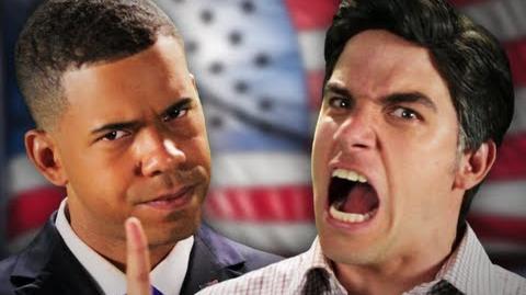 Barack Obama vs Mitt Romney. Epic Rap Battles Of History Season 2.-1