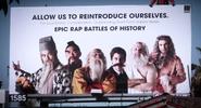 Eastern Philosophers vs Western Philosophers Billboard