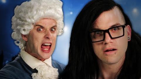 Mozart vs Skrillex. Epic Rap Battles of History Season 2