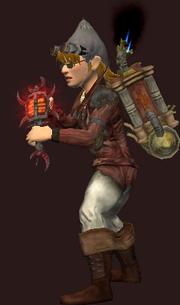 Heavy Bloodiron Talisman (Equipped)
