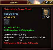 Naturalist's Sewn Tunic
