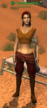 A desert prophet