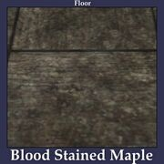 Floor Blood Stained Maple