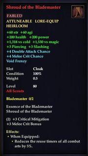 Shroud of the Blademaster
