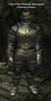 Clan Chief Malachi Sleetspear