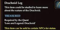 Drachnid Leg