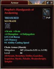 Prophet's Handguards of Awakening