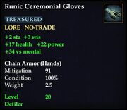 Runic Ceremonial Gloves