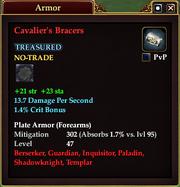 Cavalier's Bracers