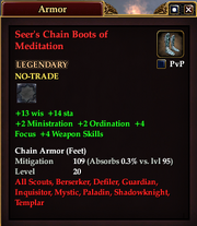 Seer's Chain Boots of Meditation