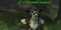 A Sabertooth champion (Shattered Vale)