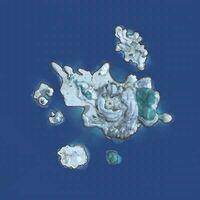 Frostfangsea map