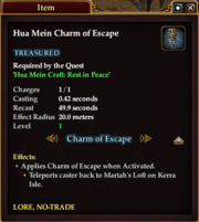 Hua Mein Charm of Escape