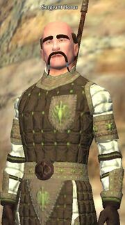 Sergeant Borus