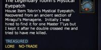 The Legendary Tobrin's Mystical Eyepatch