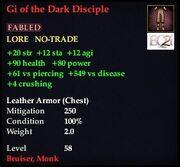 Gi of the Dark Disciple