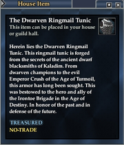 The Dwarven Ringmail Tunic