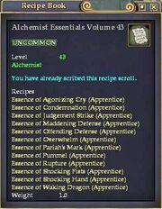 Alchemist Essentials Volume 43