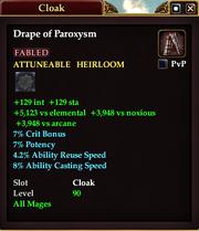 Drape of Paroxysm